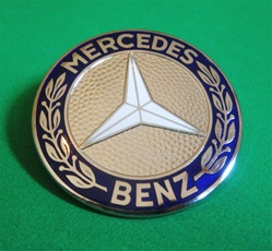 Mercedes Front Hood Emblem 300sl Roadster Coupe And 190sl
